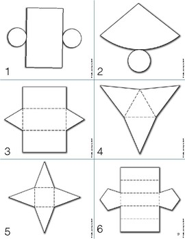3D Geometry: Differentiated Daily Math for Grade 3-6 in Ontario