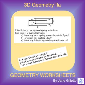 3D Geometry IIa