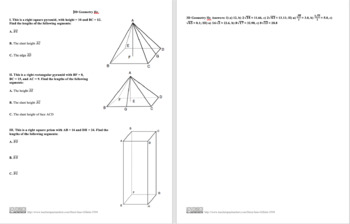 3D Geometry IIc