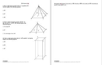 3D Geometry IId
