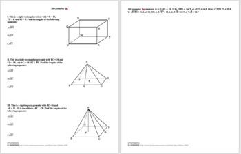 3D Geometry IIe