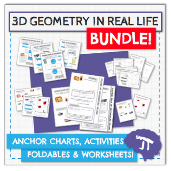 3D Geometry In Real Life BUNDLE