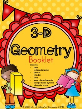 3D Geometry Interactive Booklet