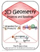 Project-Driven Middle School Math Unit: 3D Geometry 7.G.A.3, 7.G.B.6
