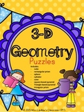 3D Geometry - Puzzles (8 figures included)