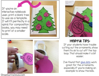 3D Grammar Tree Craftivity