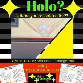 3D Hologram Projector Template