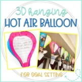 3D Hanging Hot Air Balloon