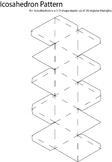 3D Icosahedron Pattern