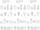 3D Kindergarten Shape Journal Entry