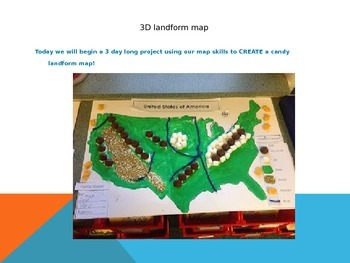 3D Landform Powerpoint Lesson