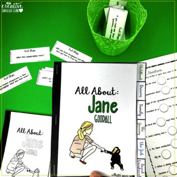 3D Learning with the Famous (Jane Goodall: Comprehension & Vocabulary)