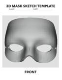 3D Mask Template