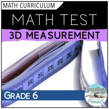 3D Measurement Unit Test - Grade 6 Assessment