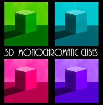 3D Monochromatic Cubes (Value Lesson)