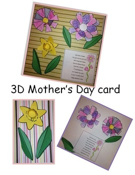 3D Mother's Day Card