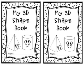 3D My Shapes Book