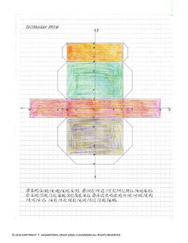 3D NETS on COORDINATE PLANE
