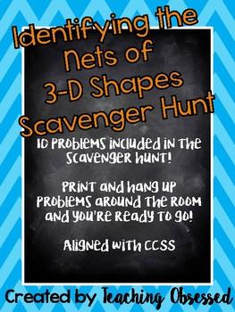 3D Nets Scavenger Hunt