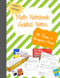 3D Nets and Surface Area - Guided Notes - Modification - 6th/7th grade