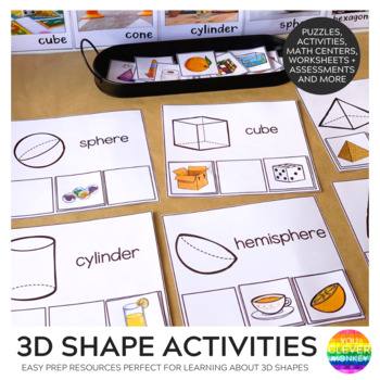 3D Object Activities + Games