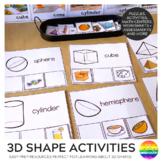 3D Shape Activities + Games