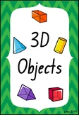 Chevron 3D Object Posters- Foundation Font