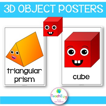 3D Object Posters