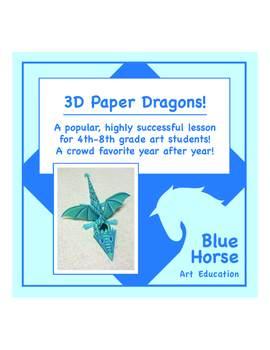 3D Paper Dragons!