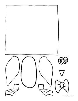 3D Penguin Classroom Craft