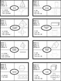 3D Polyhedrons Frayer Notes -BASIC