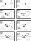 3D Polyhedrons Frayer Notes