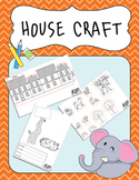 Project Based Learning: Sentences, Cut and Paste, 3D project, 3D House FREE