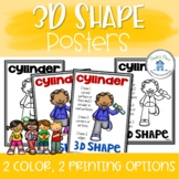 3D Posters with and without attributes