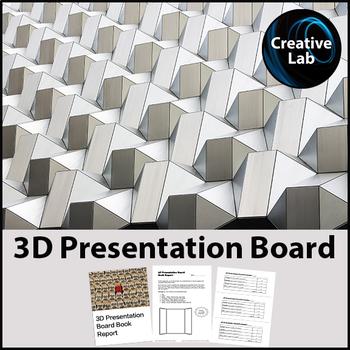 3D Presentation Board Book Report