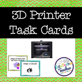 3D Printer Design Cards {3D STEM Print Designs} -32 Cards!