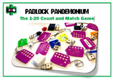 3D Printer Design Files - Padlock Pandemonium - The 1-20 C