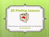 3D Printer Lessons and Task Cards