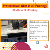 What is 3D Printing? All about 3D Printing Presentation fo