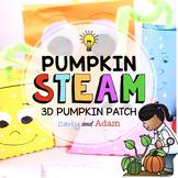 3D Shapes Pumpkin Patch Halloween STEAM Activity