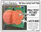 3D Pumpking Book Template: Retelling, Summaries, Story Str