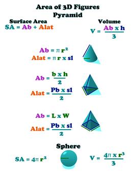 3D Pyramid 18x24