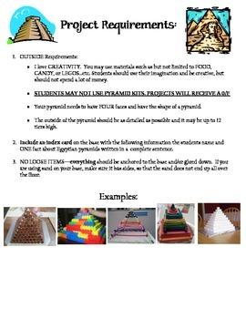 3D Pyramid Project