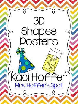 3D Real Shapes Poster {Bright Apples}