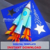 3D Rocket Science Project Trip to Space Stars Craft Planets Exploring Activity