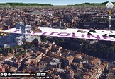 3D Rome Fly-thru for GoogleEarth