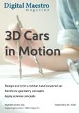 3D Rubber Band Car with Tinkercad