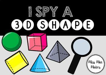 3D SHAPE I SPY