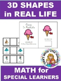 3D SHAPE VOCABULARY FOR AUTISM AND SPECIAL ED