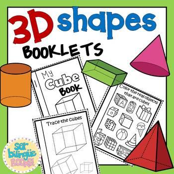 3D SHAPES BOOKLETS
